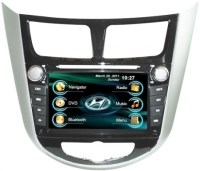 Автомагнитола штатная RoadRover Hyundai Accent 2011+ (Android)+ПОДАРОК КАМЕРА