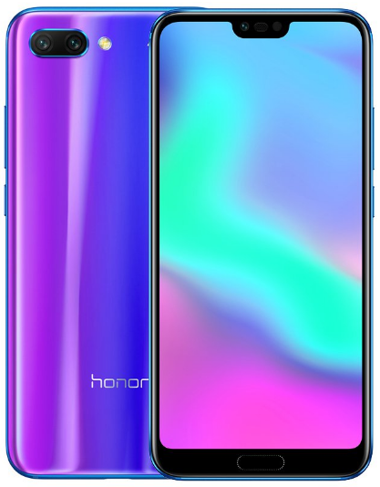 Смартфон Honor 10 4/128Gb Blue  EU