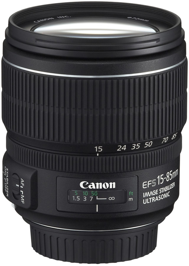 CANON EF-S 15-85mm f/3,5-5,6 IS USM