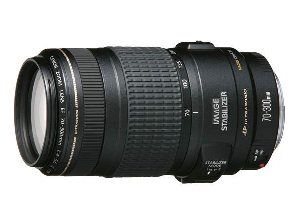 CANON EF 70-300mm f/4-5,6 IS USM