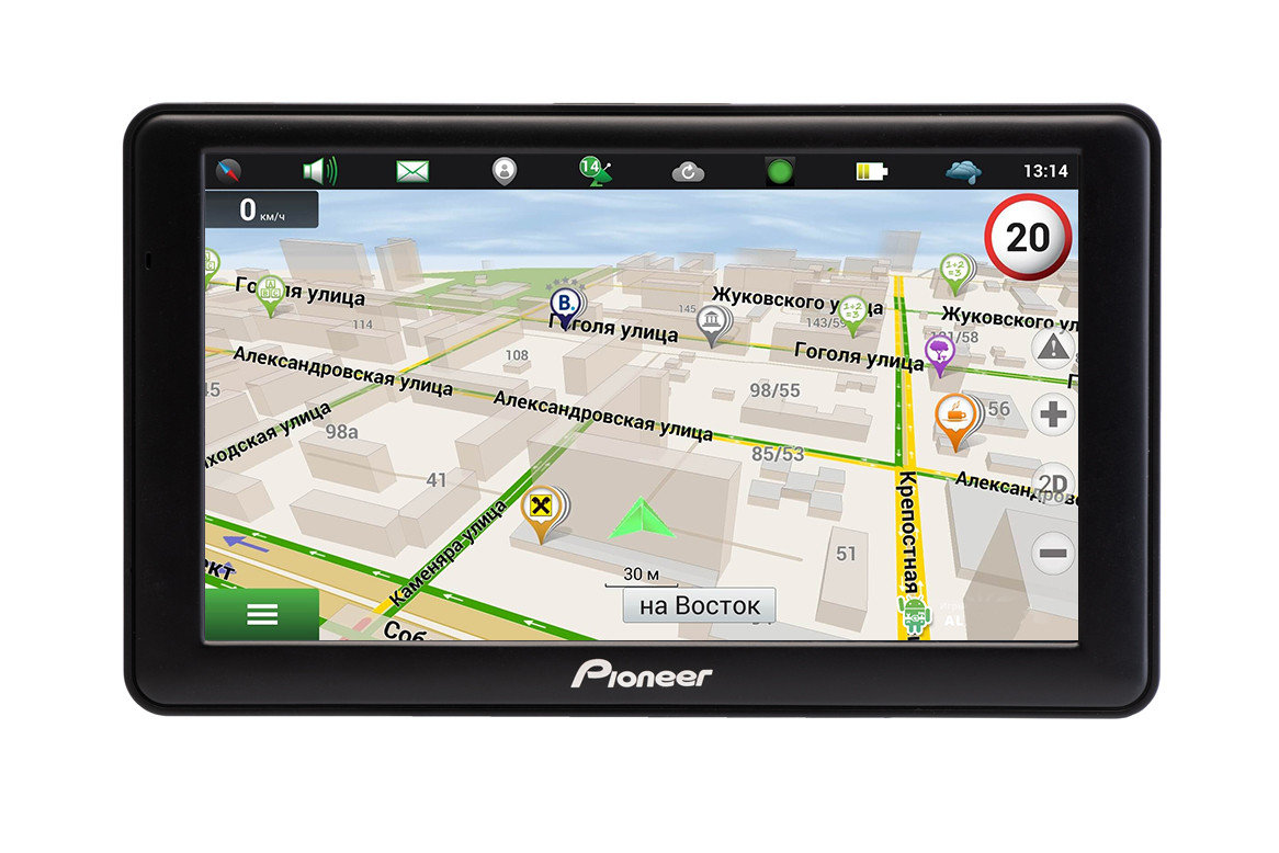 GPS навигатор Pioneer A76 (Android)