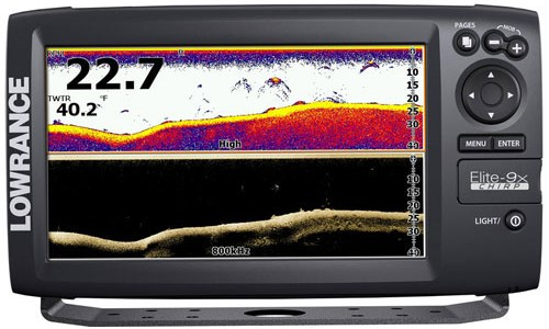 Эхолот Lowrance Elite-9x CHIRP