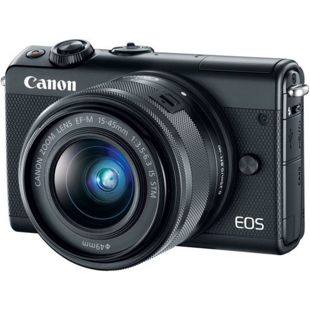 Canon EOS M100 kit (15-45mm) IS STM Black