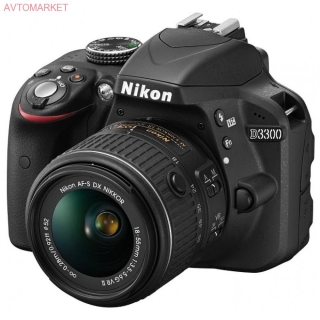 Nikon D3300 Kit 18-55mm VR AF-P Black