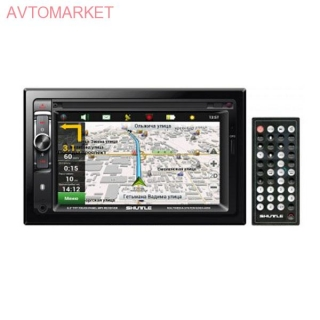 Автомагнитола Shuttle SDUN-6950 Black/Multicolor (Navitel map)