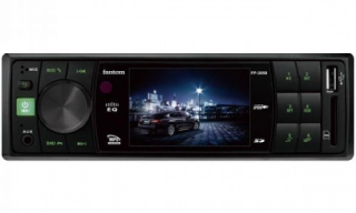 Автомагнитола Fantom FP-3050 Black/Green
